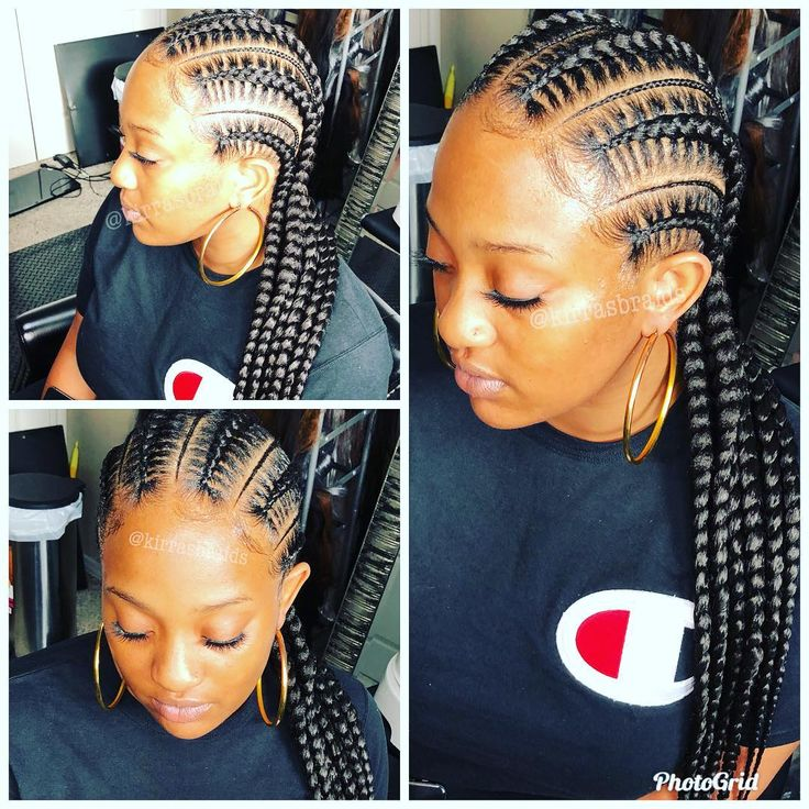 6 Stitched Feed In Braids With Small Braids Dallasbraids