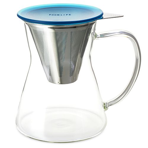 Lucidity Drip-in-Mug with Stainless Dripper & Lid 12 oz.