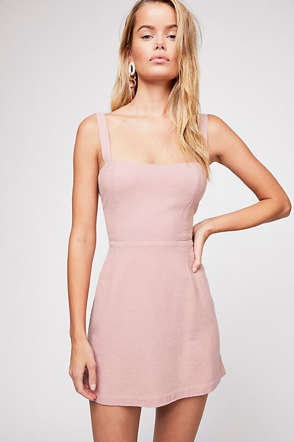 017105b327 Slide View 1  Short N  Sweet Solid Mini Dress