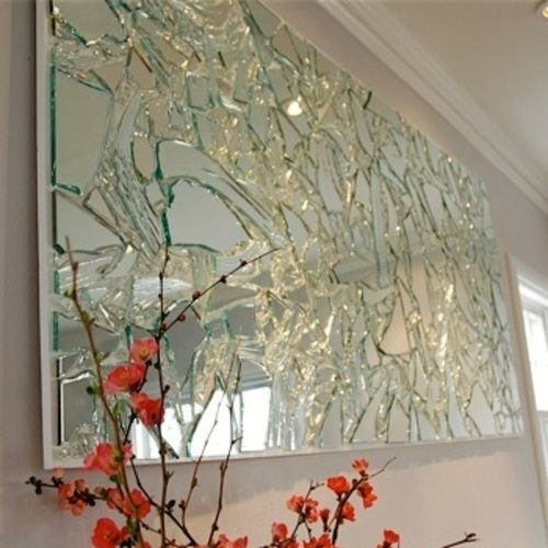 12 best images about mirror on pinterest wallpaper for Glass art projects