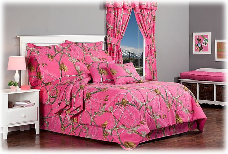 For Niki - Bass Pro Shops Realtree APC Fuchsia Collection Comforter Set | Bass Pro Shops