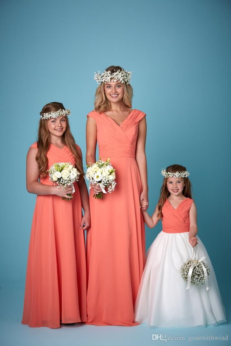 25 cute coral bridesmaid dresses uk ideas on pinterest buttons 2016 bridesmaids gowns junior bridesmaids dresses flower girls dresses for wedding different style fine chiffon or ombrellifo Images