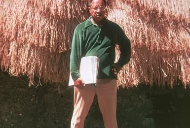 """How did Malcolm X help Alex Haley become a famous writer?: Alex Haley, author of """"Roots,"""" 1977"""