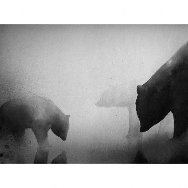 Bears drawing  Artist: Elicia Edijanto