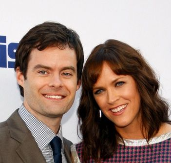 Bill Hader and wife Maggie Carey welcomed a baby girl!  Hayley joins big sisters Harper and Hannah Kathryn. #celebs