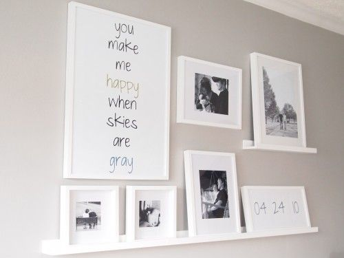 Picture Collage: Wall Art, Photo Display, Photo Arrangement, Cute Ideas, Galleries Wall, Photo Wall, Frames Wall, Bedrooms Wall, Wall Ideas