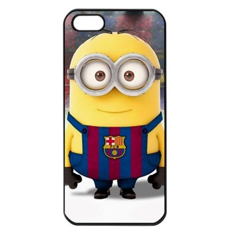 FC Barcelona minions Iphone 5 case cover | bestiphone5caseshop - Accessories on ArtFire
