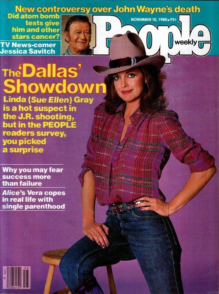 People Magazine November 10 1980 Dallas Linda Gray John