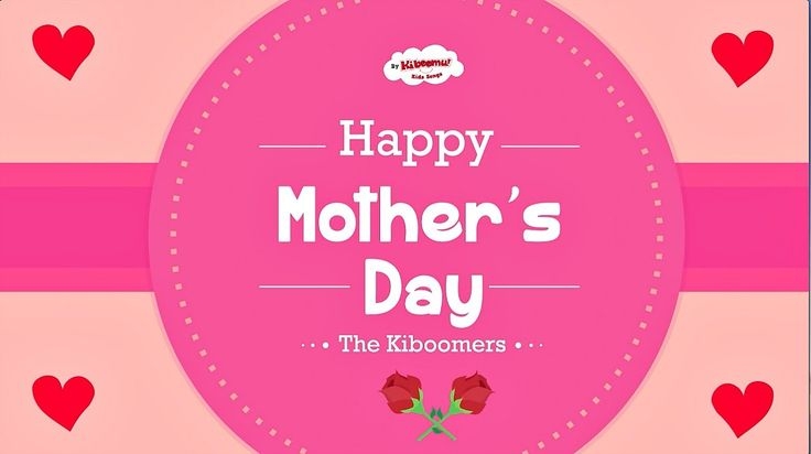 Super sweet Mother's Day video for children.  Fun Mother's Day song for kids to learn and sing along to!  #mothersday