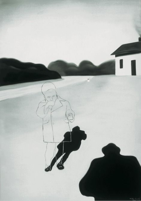 László Fehér, House, Child, Shadow 1994 on ArtStack #laszlo-feher #art