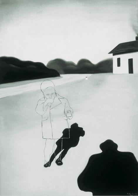 László Fehér, House, Child, Shadow 1994 on ArtStack #laszlo-feher #art
