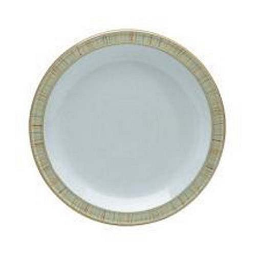 Denby Caramel Stripes Dinner Plate by Denby. $34.95. Dishwasher, microwave, oven and freezer safe. Denby Caramel Stripes Dinner Plate. Strong, durable and chip-resistant. Stoneware. Each piece of pottery is painstakingly glazed by skilled craftsman.. Good enough to eat, Caramel by Denby is the ultimate feel-good range, available in a selection of drinking, eating, serving and cooking pieces. Add a dash of Caramel Stripes to create an appetising look for any dining table.. Save 13%!