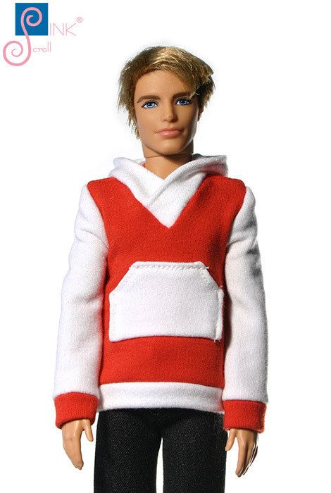 Ken clothes sweater:  Cerro by Pinkscroll on Etsy
