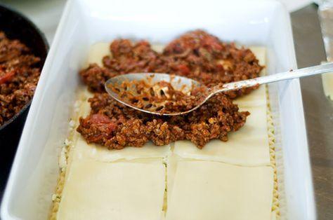"""Best Ever Lasagna Recipe"" from @Reena Dasani Drummond | The Pioneer Woman #recipe"