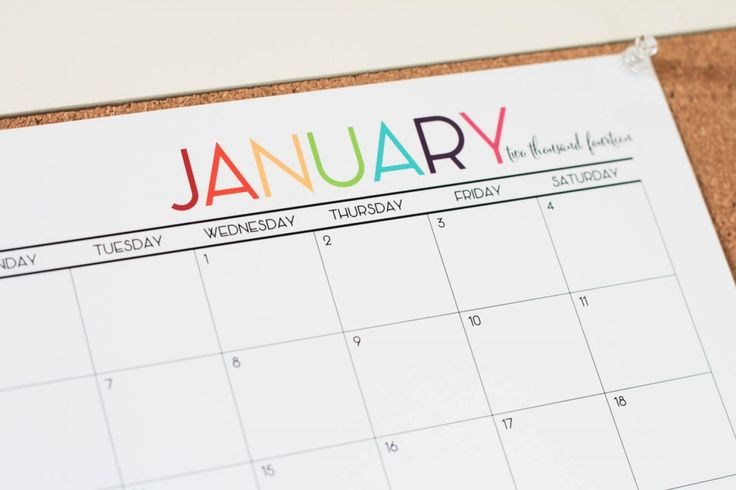 This is cool AND you can print it from home!  Free 2014 Printable Calendar in Color :: The TomKat Studio