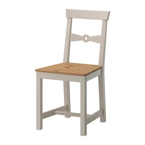 IKEA - GAMLEBY, Chair, Easy to move thanks to the hole in the backrest.</t><t>Solid pine is a natural material which ages beautifully and gains its own unique character over time.
