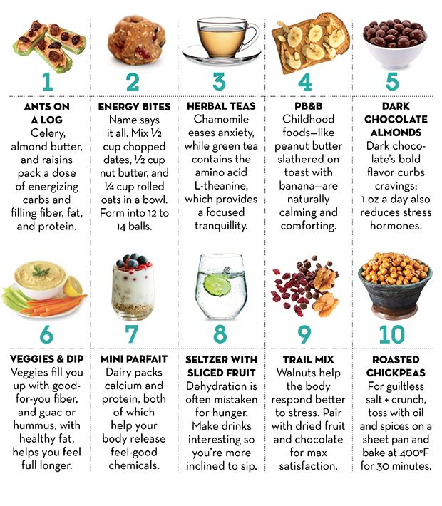 10 Snacks Every Stress Eater Needs  http://www.prevention.com/food/snacks-stress-eaters?cid=soc_Prevention%2520Magazine%2520-%2520preventionmagazine_FBPAGE_Prevention__