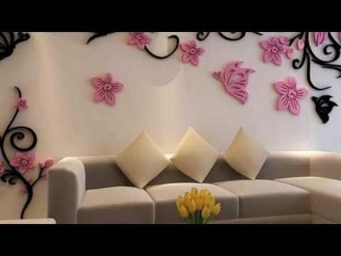 Super ideas para decorar tu pared - YouTube