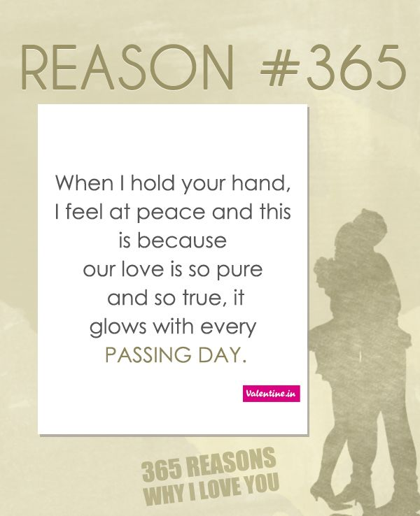 365 Reasons Why I Love You Ideas