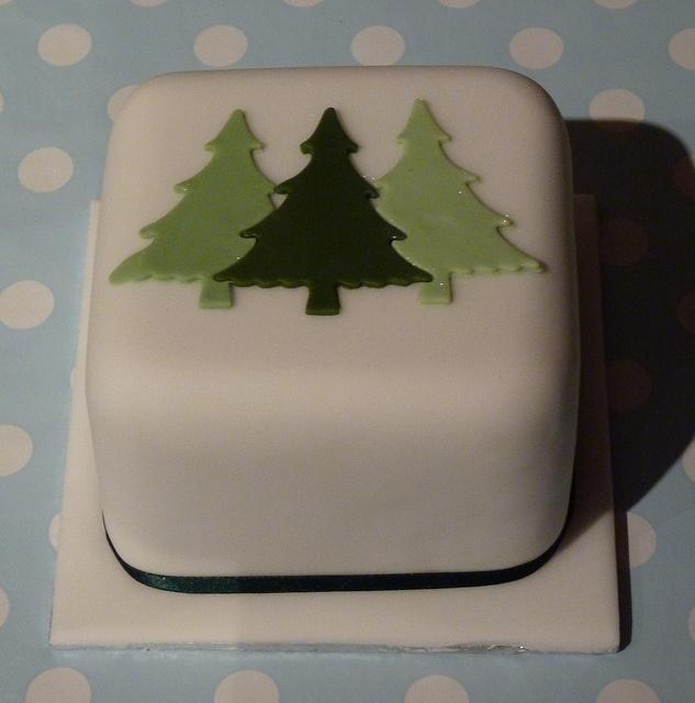 christmas cake decorating ideas.