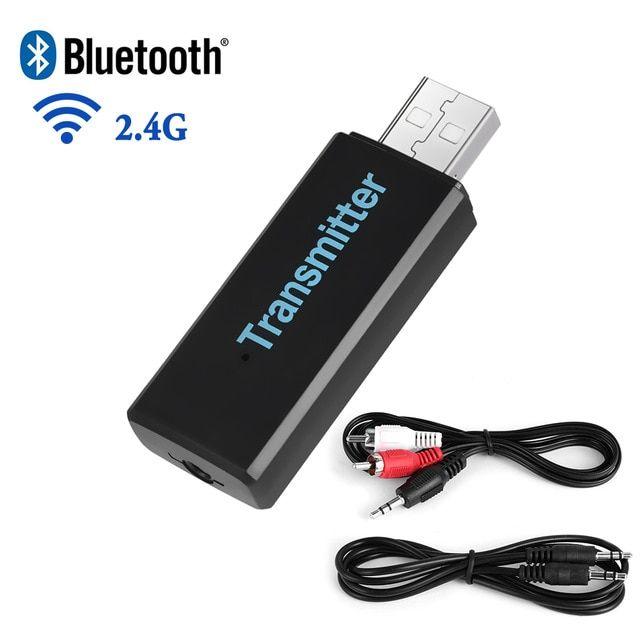Wireless BT Transmitter HIFI Stereo Audio Music Adapter for TV Phone PC Speaker