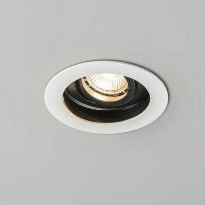 Lampenlicht.be inbouwspot Rondoo wit
