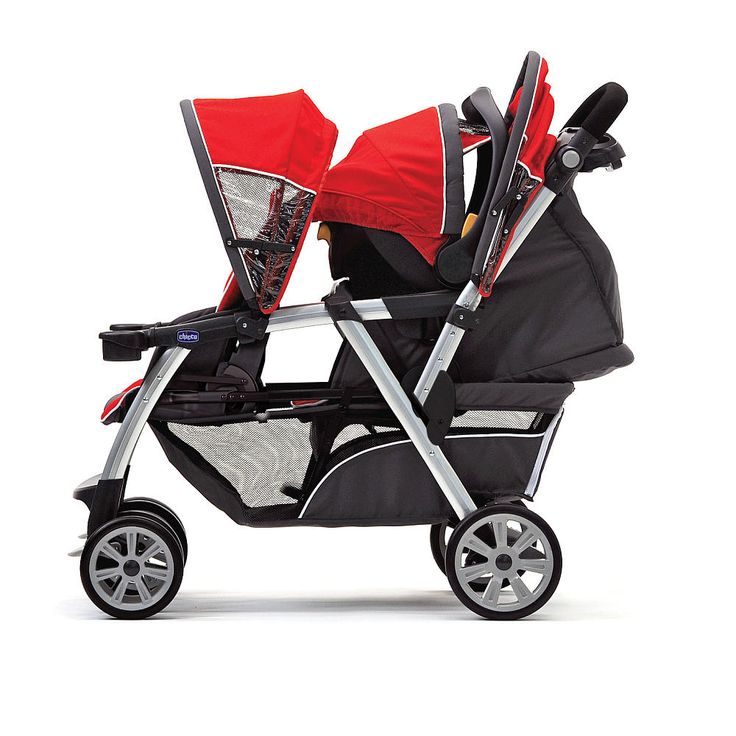The Chicco Cortina Together Double Stroller is the first two-passenger stroller to accept 2 of the #1 Rated KeyFit and/or KeyFit 30 infant car seats (sold separately). With the same easy click-in attachment as the Cortina, the Chicco Cortina Together Double Stroller takes a car seat in both the front and rear seats so families can travel together easily with 2 infants, 1 toddler and 1 infant or 2 small toddlers. Exclusive, forward-fold front seat accepts the KeyFit or KeyFit 30 infant car…