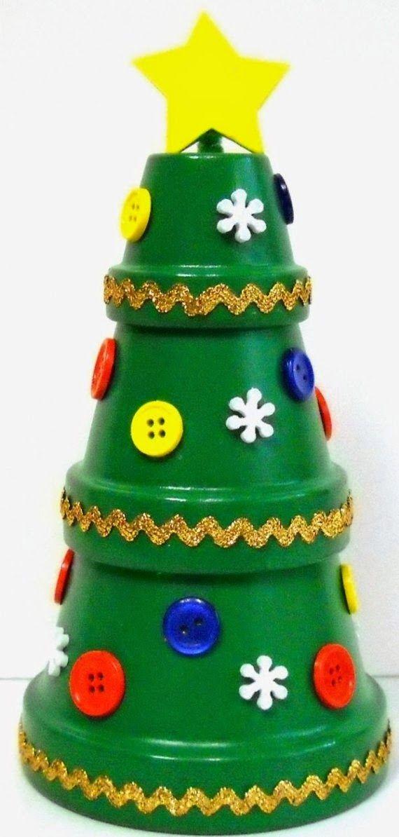 Árvore de natal criativa!