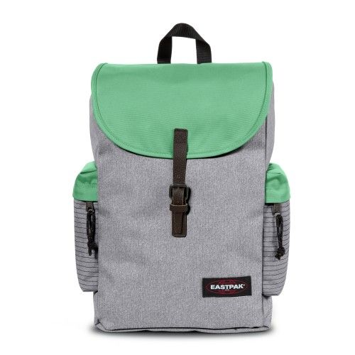 Austin Mix Stripe Backpacks by Eastpak - Front view