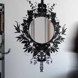 They have hundreds of these wall clings and they are amazing - just gorgeous.  Check out all the options.