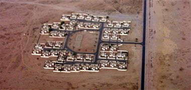 A residential development in the desert – with the permission of Jose David on Flickr