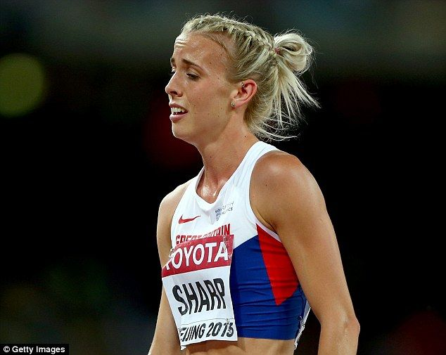 Lynsey Sharp fumed as the first wave of drugs bans were meted out to Russian athletes for doping