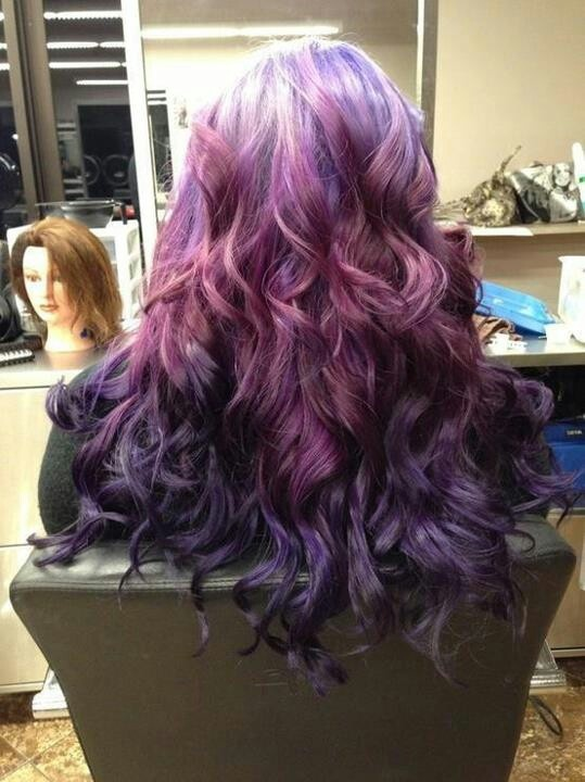 Purple Ombre  Purple H...