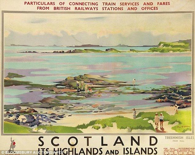 SCOTLAND It's Highlands and Islands - British Railways {NOTE}