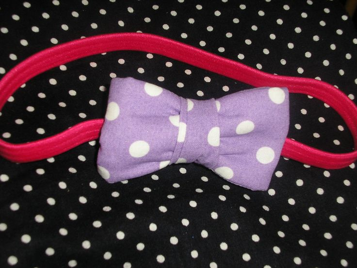 Bow headband, party favor for little girls for my son's 3rd birthday party.