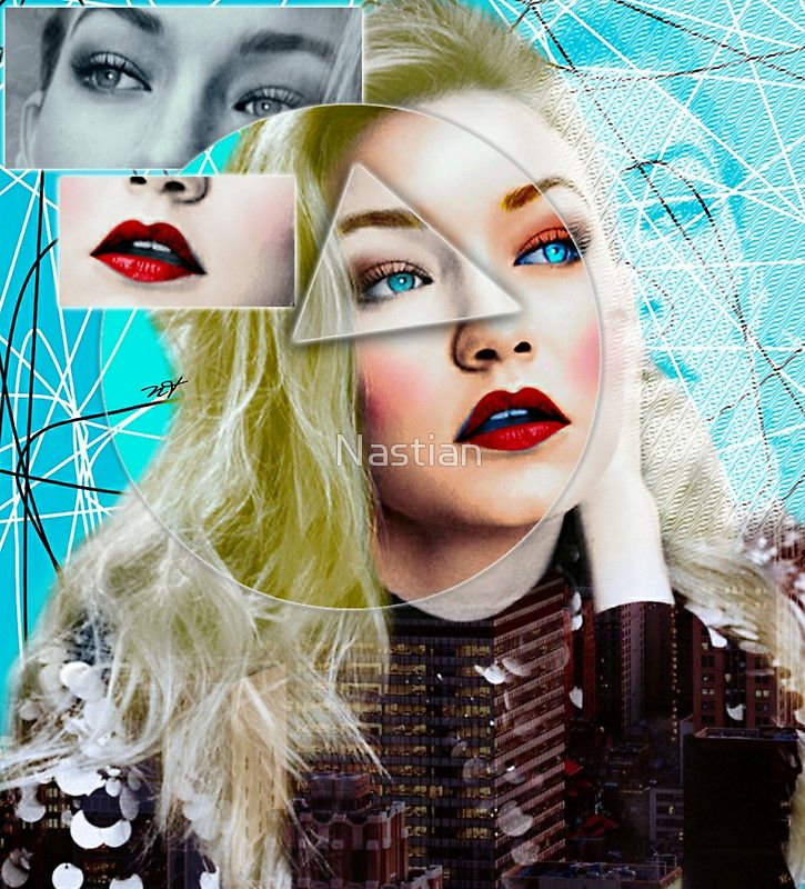 Are you crazy about Gigi Hadid? / well than enjoy this graphic and purchase your favouriteyor favourite item. / Estas loco/a por Gigi Hadid? / buen entonces disfruta este grafico hecho por mi y elige tu modelo favorito. • Buy this artwork on apparel, stickers, phone cases y more.