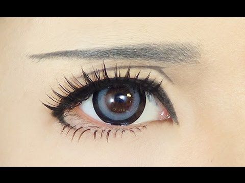 ▶ Tutorial : Anime Eye Makeup 47 - YouTube