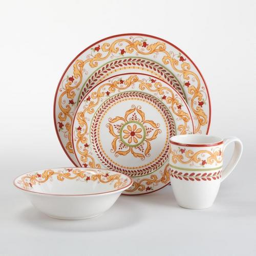 Lisbon Collection-Dinnerware-Dinnerware and Serving-Entertaining \u0026 Kitchen & 7 best Tuscan Dinnerware images on Pinterest   Dillards Dish sets ...