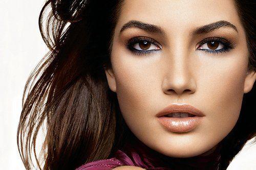 make-up sposa pelle olivastra