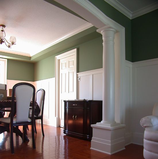 Columns In Living Room Google Search For The Home Pinterest Columns Living Rooms And Arches