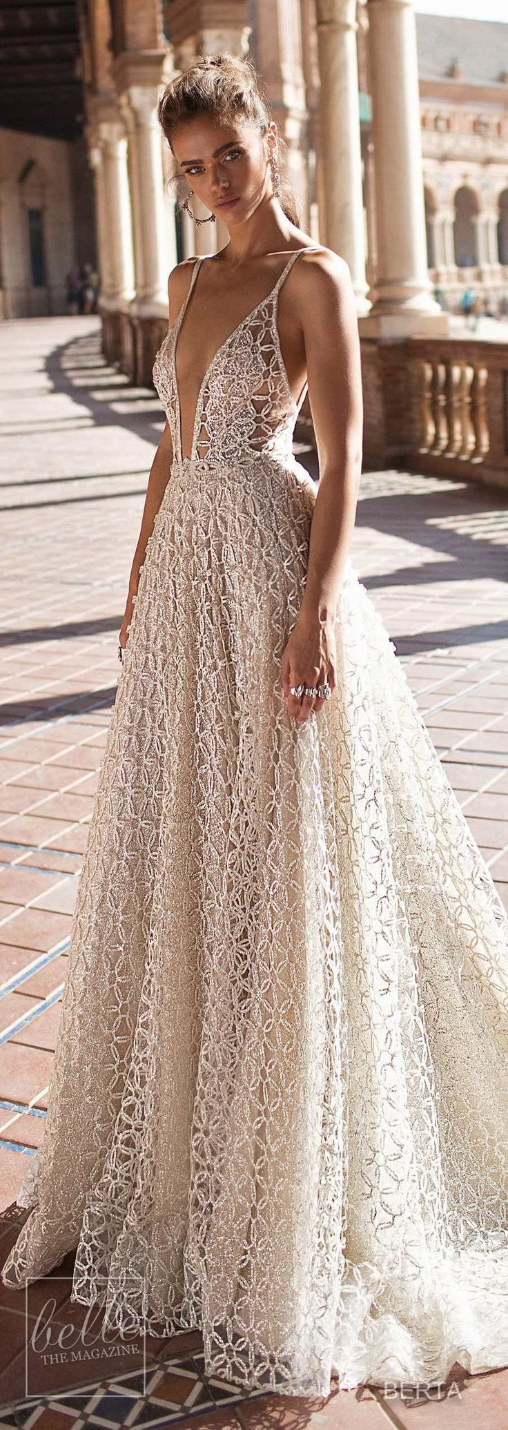 Berta Herbst 2018 Bridal dress collection for Seville