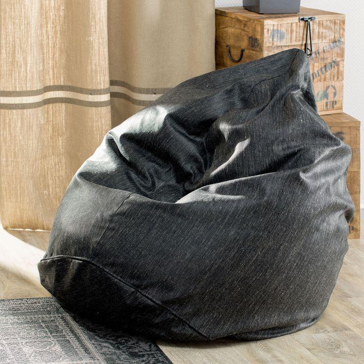 Worek do siedzenia young loft, Ø50x85 cm - Dekoria #mlodziez #youth #room #pokoj #inspiration #decoration #style #dom
