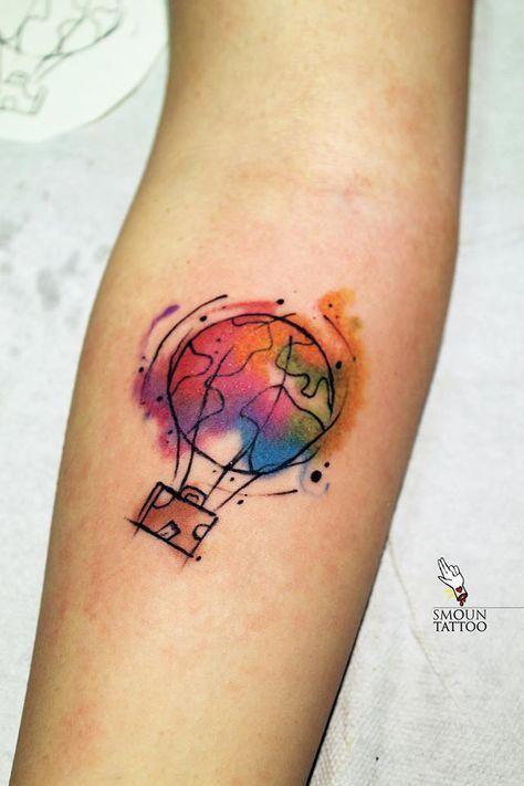 7cece1d69 Travel tattoo #Tattoosforwomen | Tattoos for women | Pinterest ...