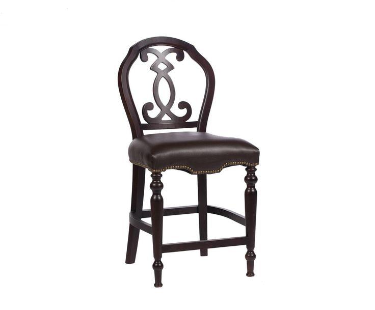 Стул Polonso – это потрясающе изысканный предмет мебели, способный не только украсить, но и сделать ярче любую комнату в стиле «прованс». Темно-коричневый цвет каркаса из березы и кожаной обивки, украшенные железными заклепками, подчеркнут спокойные пастельные тона стен. Благородство придают стулу его оригинальная спинка и форма ножек. Этот аксессуар непременно придется по вкусу всем ценителям современного, но в то же время архаичного оформления дома.             Метки: Кухонные стулья…