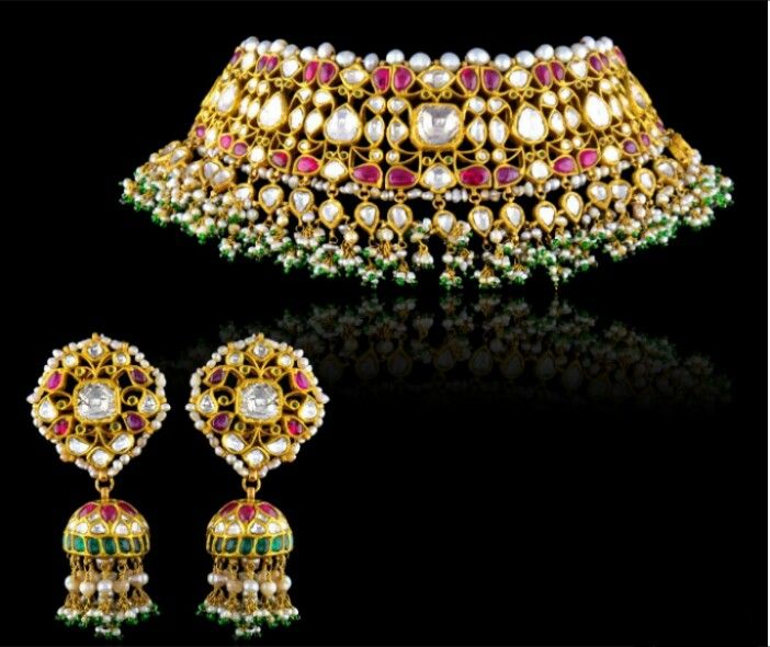 166 Best Bridal Jewellery Collections Images On Pinterest: 166 Best Guluband/ Jadawi Lacha Images On Pinterest