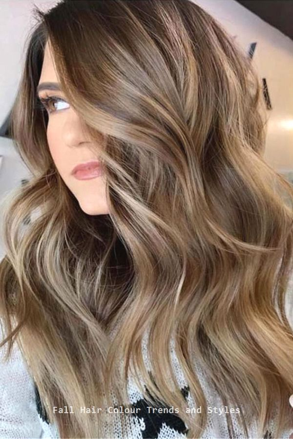 Fall Hair Colour Trends And Styles Trendyhairs Coloredhair In 2020 Brown Hair With Highlights Brown Hair Balayage Hair Color Balayage
