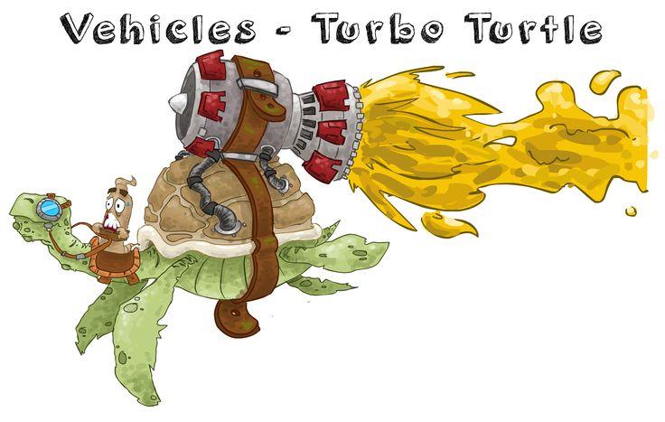 Turbo vehicle creature