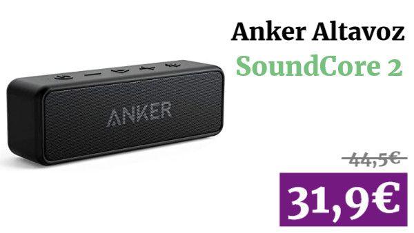 Anker SoundCore 2 Altavoz ✏ #vadegangas #Amazon en 2020 | Altavoces