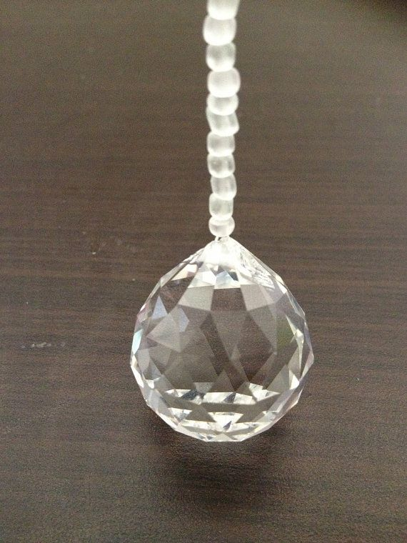 30mm Hanging Crystal Sun Catcher with Glass by MyHomeWaresAust  #feng #shui #crystal #suncatcher