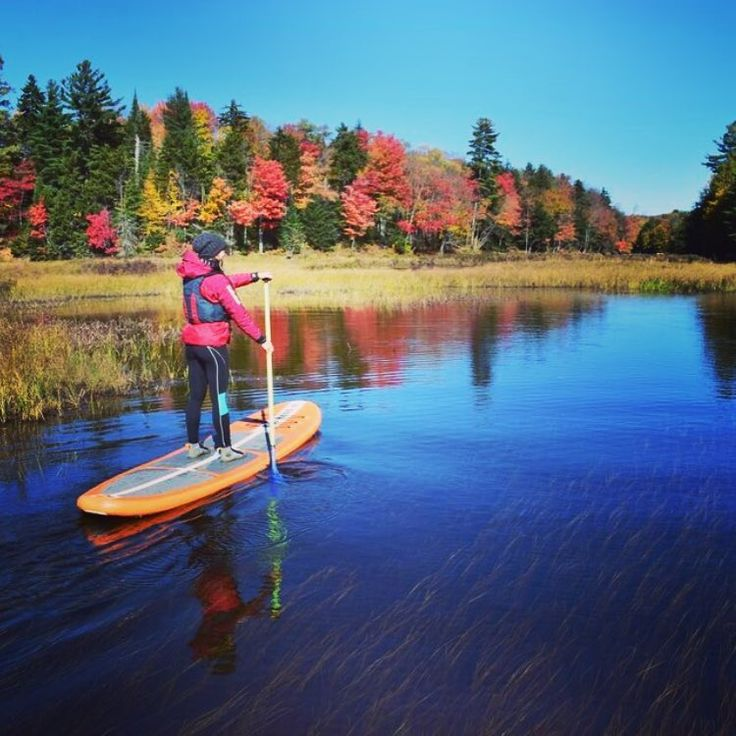 Fall Stand up paddle boarding